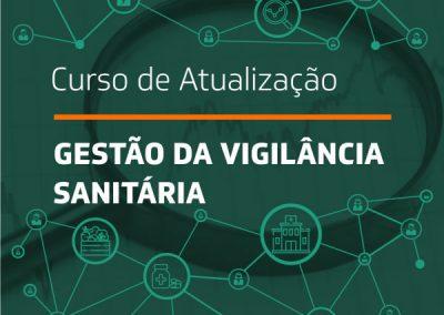 Curso de Atualização em Gestão da Vigilância Sanitária